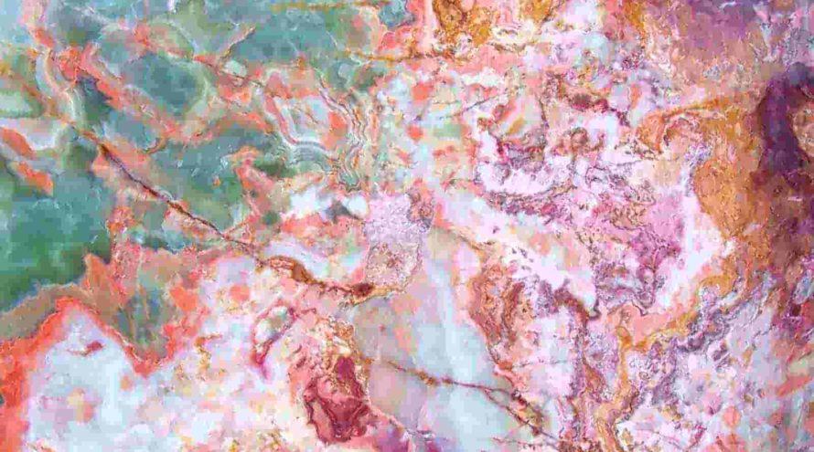 Разноцветный мрамор