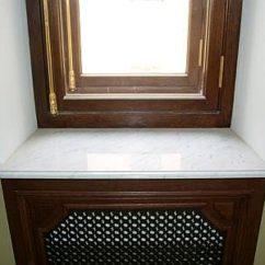 Подоконник для маленького окна