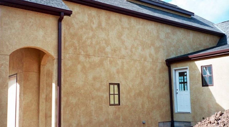 Каменная отделка фасада
